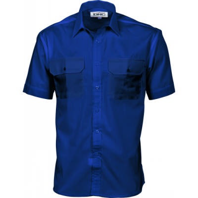 110gsm Polyester Cotton Work Shirt - S/S