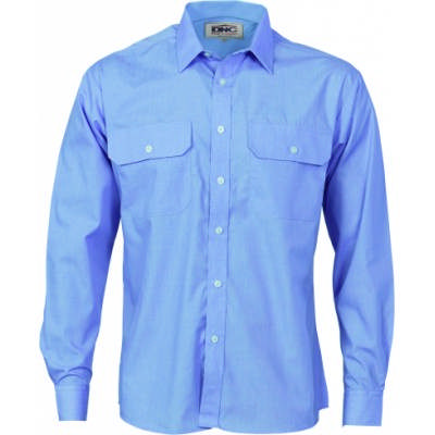 110gsm Polyester Cotton Work Shirt - L/S