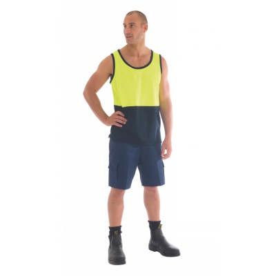 190gsm Light Weight Cool-Breeze Cotton Cargo Shorts