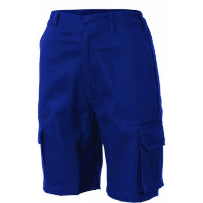 311gsm Ladies Cotton Drill Cargo Shorts