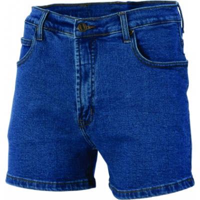 Denim Stretch Shorts