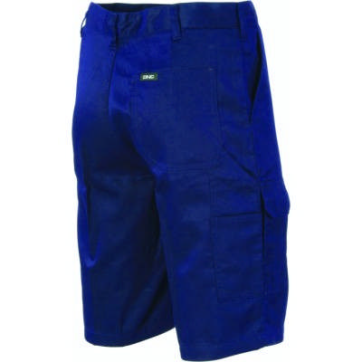 265gsm Middle Weight Cool-Breeze Cotton Cargo Shorts with 2 Airflow Eyelets on Crotch