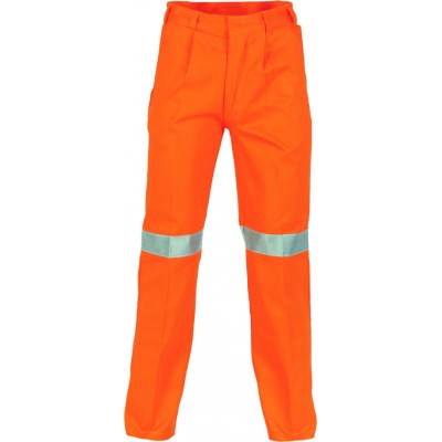 311gsm Cotton Drill Trousers with 3M8906 Reflective Tape