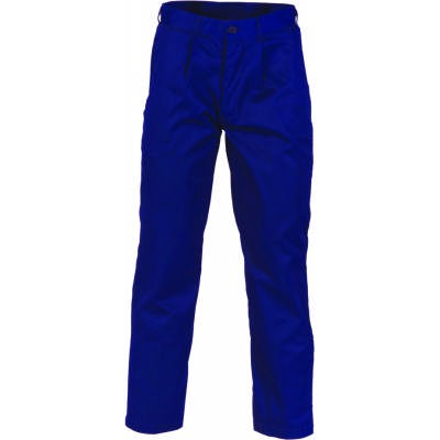 200gsm Polyester Cotton Pleat Front Work Trousers