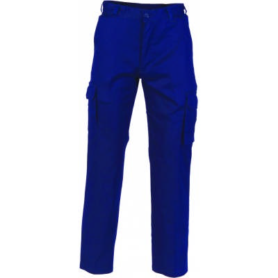 265gsm Middle Weight Cool-Breeze Cotton Cargo Pant with 2 Airflow Eyelets on Crotch