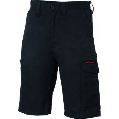 265gsm Digga Cool-Breeze Cotton Cargo Shorts with 4 Airflow Eyelets on Crotch