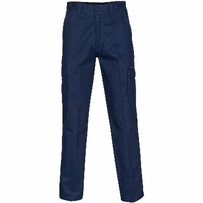 Middle Weight Ctn Double Angled Cargo Pants