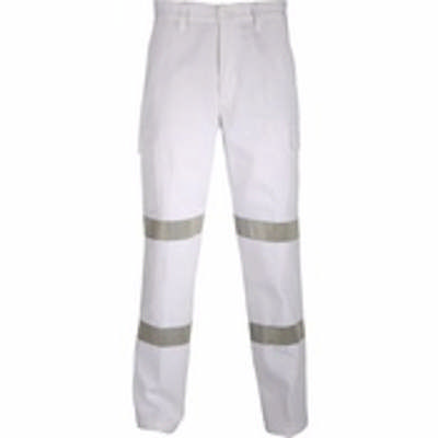 311gsm Cotton Drill Cargo Pants with Double Hoops CSR R/Tape. Availability- In Stock