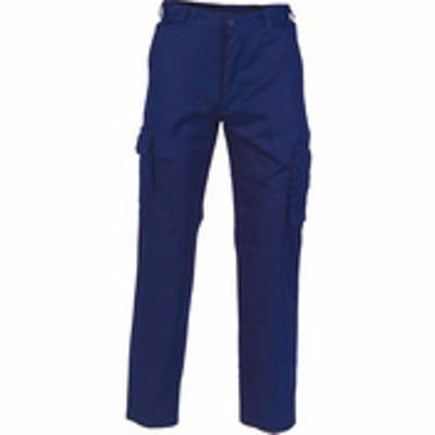 Ladies 190gsm Light Weight Cotton Cargo Pants. Availability- In Stock