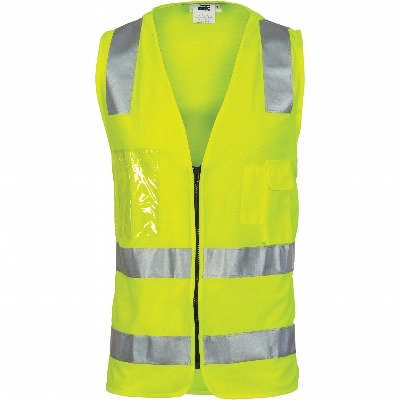 Day/Night Side Panel Safety Vest with CSR R/Tape