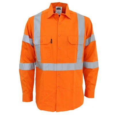 Hi-Vis 3Way Vented X Back & Biomotion Taped Shirt