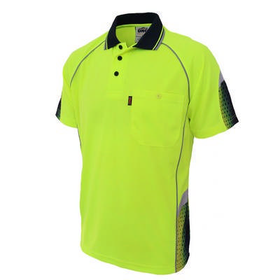 HiVis Galaxy Sublimated Polo