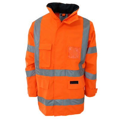 HiVis HPattern Breathable Raint Jacket Bio-Motion Tape