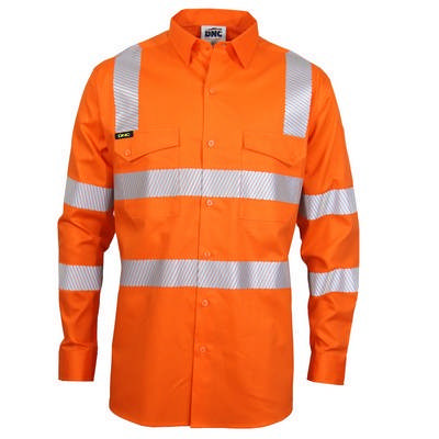 HiVis Segment Taped Coolight Vic Rail Shirt