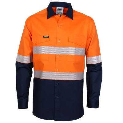 HiVis 2Tone Segment Taped Coolight Shirt