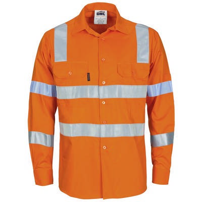 HiVis LW Bio-Motion Shoulder Stripe & X Back Shirt