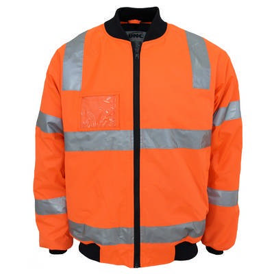 HiVis Hoop Pattern Flying Jacket Bio-Motion Tape