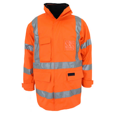HiVis X Back 6in1 Rain Jacket Bio-Motion Tape