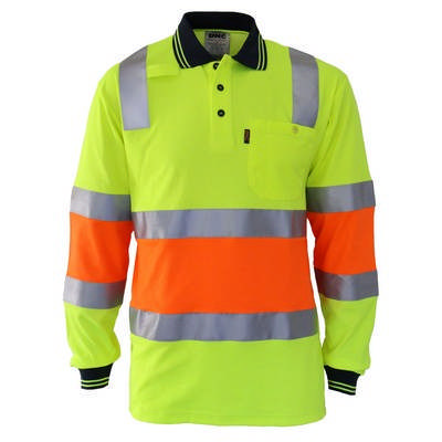 Cotton Back HiVis Two Tone Bio-Motion DN