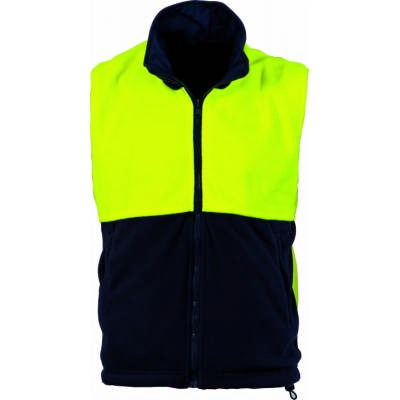290gsm Polyester Polar Fleece Reversible Vest