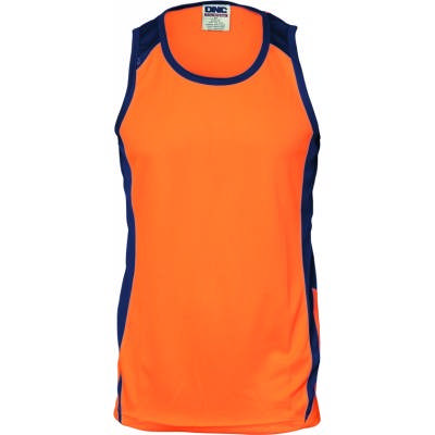175gsm HiVis Cool-Breathe Action Singlet