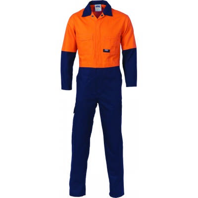 HiVis Cool-Breeze 2-Tone Lightweight Ctn Coverall