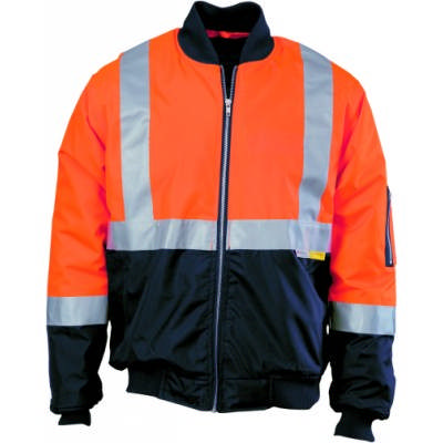 HiVis 2Tone Flying Jacket w/ 3M RTape
