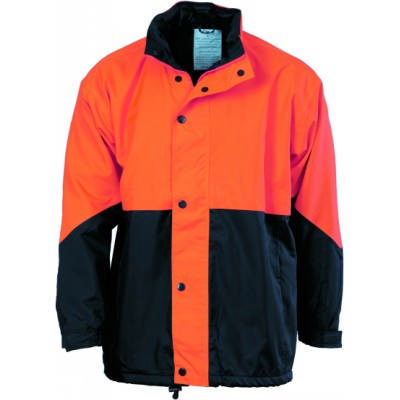 300D Polyester/PU Hi-Vis Two Tone Classic Jacket