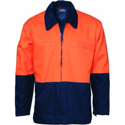 HiVis Two Tone Protector Drill Jacket