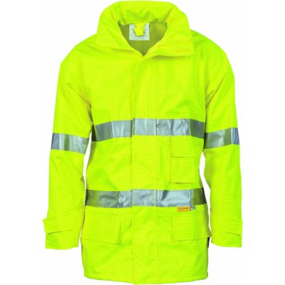HiVis Breathable And Anti-Static Jacket w/ 3M RTape