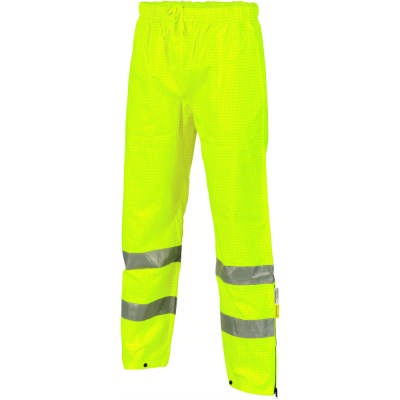300D Polyester/PU Hi-Vis Breathable & Anti-Static Trousers with 3M8906 R/Tape
