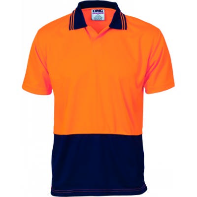 175gsm Polyester HiVis Food Industry Polo, S/S