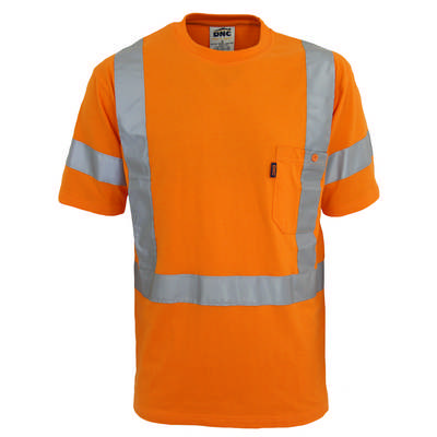 HiVis Cotton Taped Tee - SS