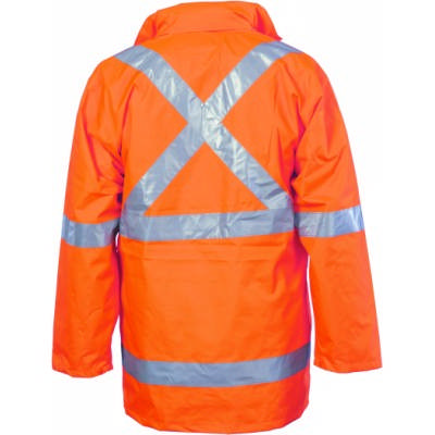 HiVis CroSS Back DN 2 In 1 Rain Jacket