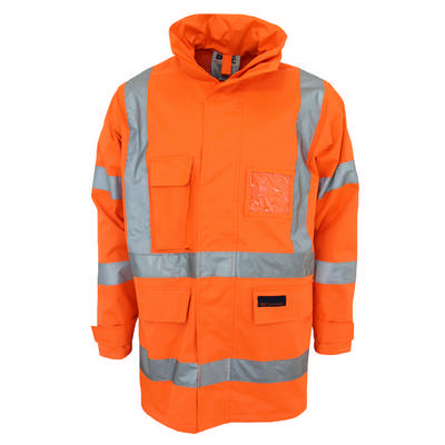 HiVis X Back Rain Jacket Bio-Motion Tape