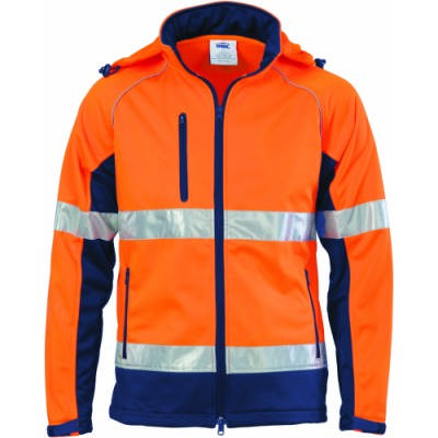 HiVis CroSS Back DN 6in1 Jacket (Outer Jacket And Inner Vest Can Be Sold Separately)