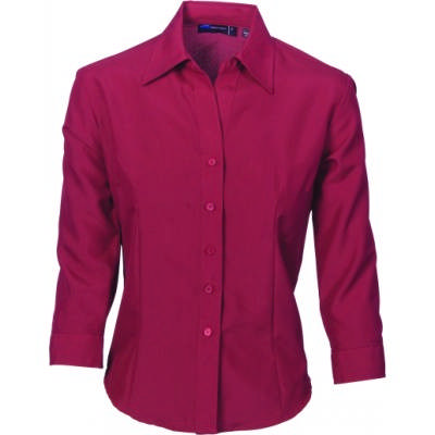 120gsm 100% Polyester Ladies Cool-Breathe Shirt,3/4 Sleeve