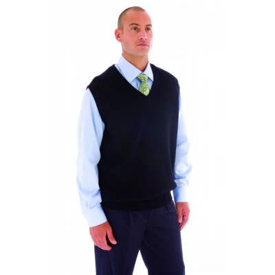 Pullover Vest, Wool Blend