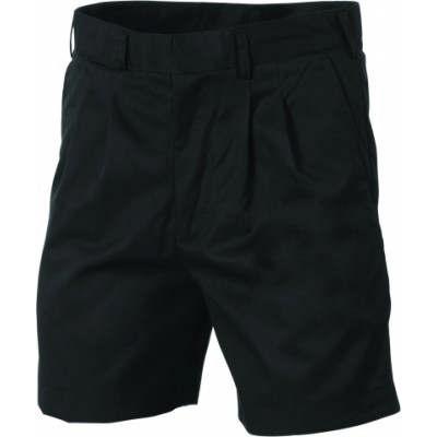 275gsm Poly/Viscose Pleat Front Permanent Press shorts