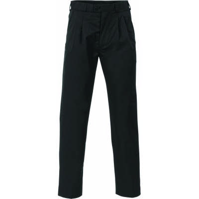275gsm Mens Polyester Viscose Pleats Front Trousers