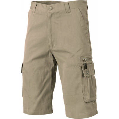 260gsm Island Cotton Duck Weave Cargo Shorts