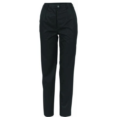 275gsm Ladies Permanent Press Flat Front Pants