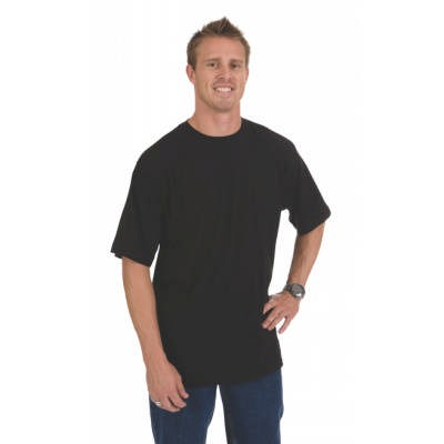 190gsm Adult Combed Cotton Jersey Tee