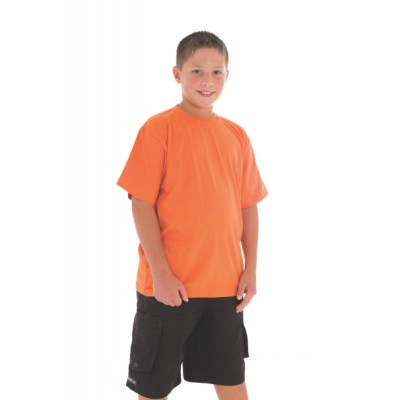 190gsm Kids Combed Cotton Jersey Tee