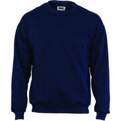 Crew Neck Fleecy Sweatshirt (Sloppy Joe)