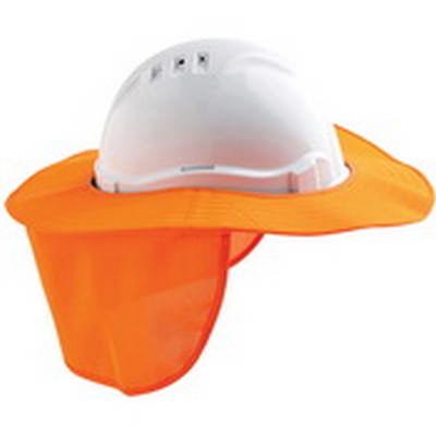 Detachable Hard Hat Brim with Neck Flap. 20/Carton