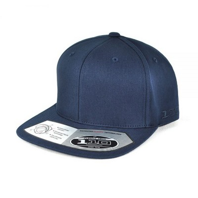 FLEXFIT 110 FLAT PEAK COTTON TWILL SNAPBACK
