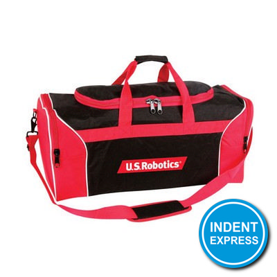 Indent Express - Tri-Colour Sports Bag
