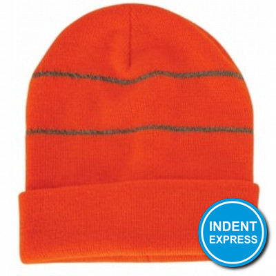 Indent Express - Beanie With Reflective Trim