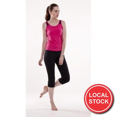 Local Stock - Rochelle Fitness Singlet - Ladies